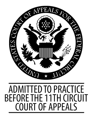 Admitted to Practice Before the 11th Circuit Court of Appeals